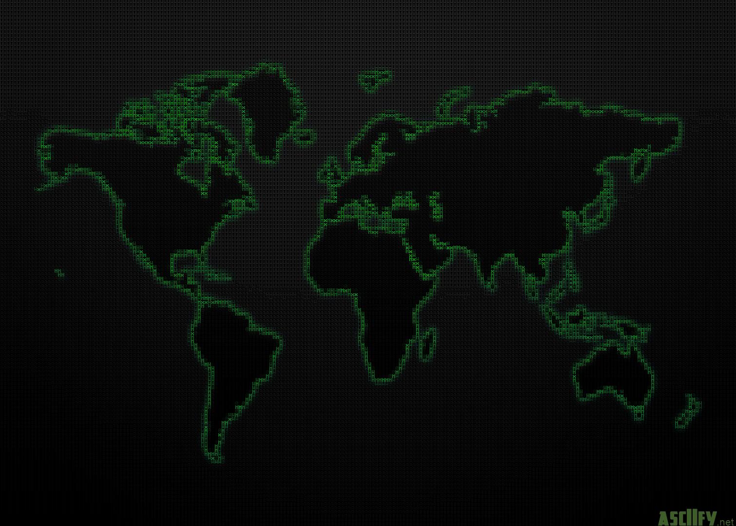 ASCIIfy.  WorldMap