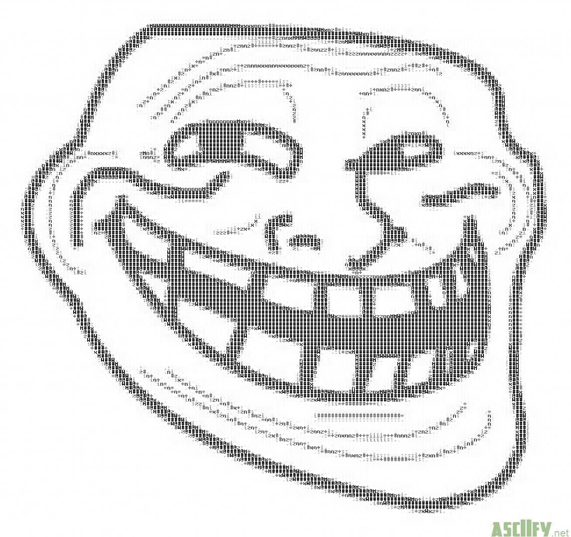 Asciifynet Troll