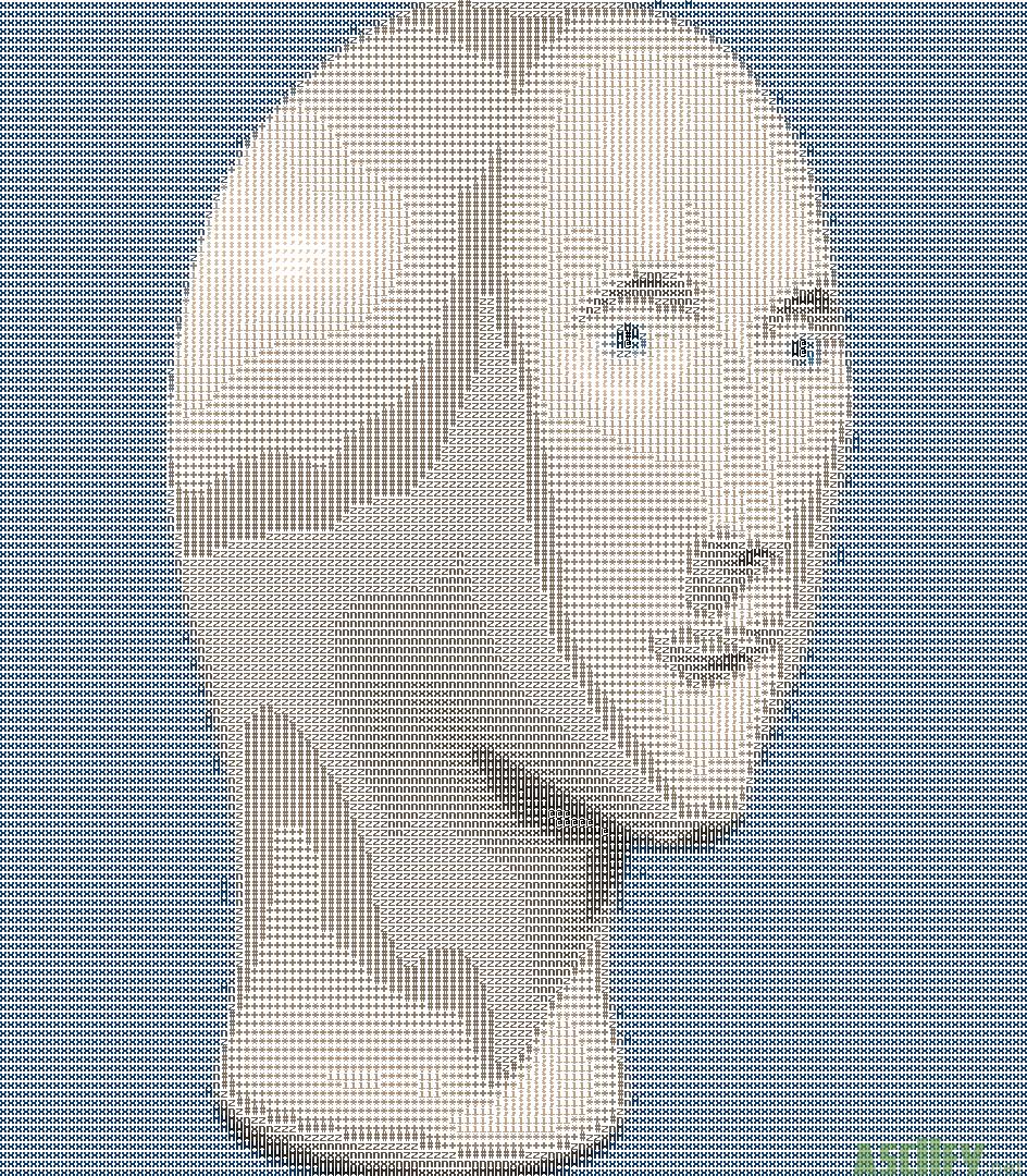 ASCIIfy net - Meme man