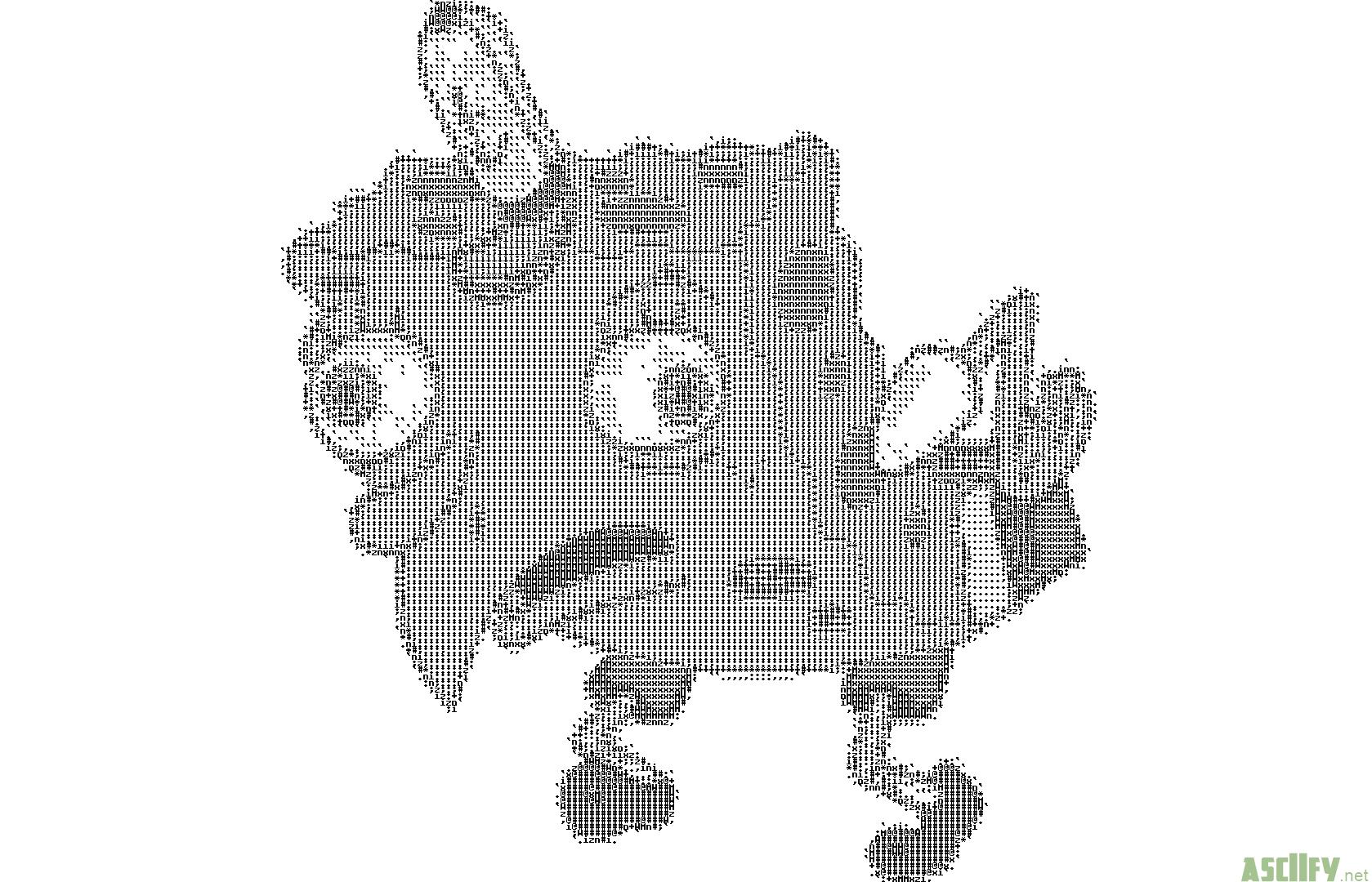 SpOnGeBoB ASCII