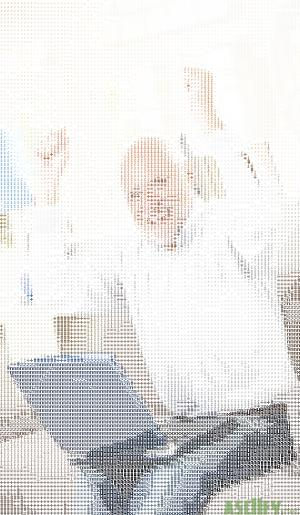Harold happy