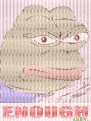 Pepe has Had ENOUGH