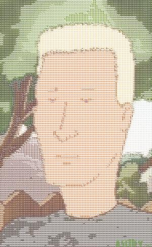 """""""Don't give me those basset-hound eyes, Boomhauer."""