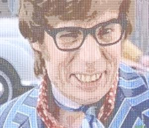 Austin Powers but not cursed this time