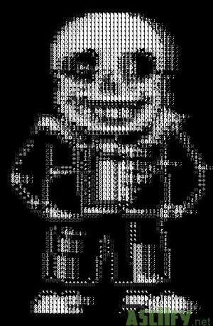 Sans Undertale (Lower Resolution)