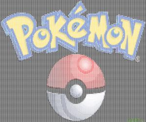 Pokemon with poke ball