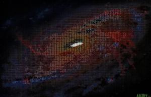 ASCII Galaxy