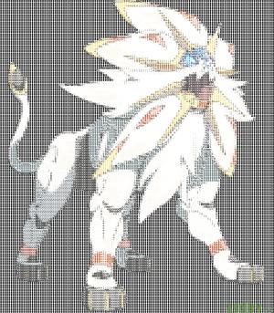 Pokémon Sun - Solgaleo