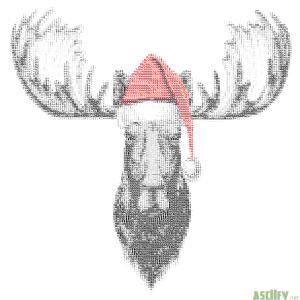 Christmas Elk new