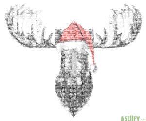 Christmas Elk new II
