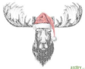 Christmas Elk new III