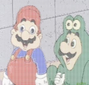 Luigi's pepe cosplay is making mario.exe crash