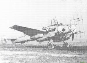 Messerschmitt Bf-110 G4 Nachtjäger