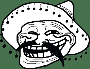 troll mexican face small