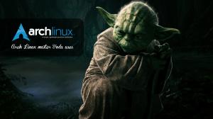 Arch Linux Yoda