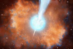 Lightning in the cosmos