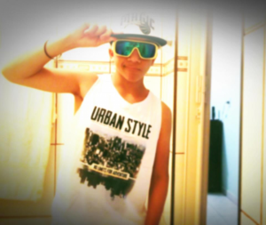 Urban style kid