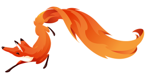 Fox on fire from firefox