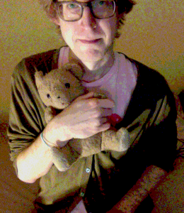 Guy with teddy