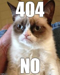 404 no grumpy cat