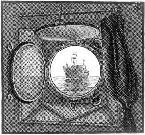 Round ship window