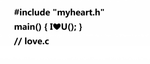 includ myheart.h