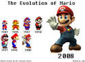 Evolution of Mario