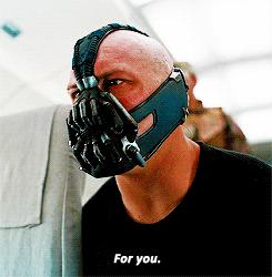 Batman bane for you.