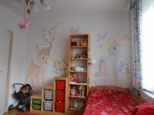 Bambi on the wall