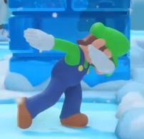 Dabbing Luigi